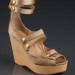 Patrizia Pepe bej nude rengi sandalet ayakkabı