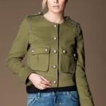 Patrizia Pepe gabardin askeri tarz military ceket