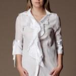 beyaz tunik modeli