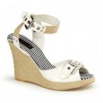 hasır dolgu topuklu ayakkabılar
