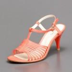 hotiç nar çiçeği rengi ayakkabı
