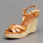 hotiç taba rengi sandalet