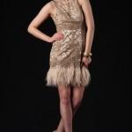 mini dantelli nişan kıyafetleri 2011