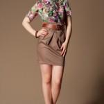 yazlık çiçekli elbiseler