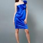 2011 saks mavisi mini abiye elbise