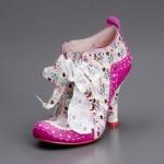 Irregular Choice çiçekli ayakkabı