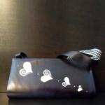 PilaMita Design Kadın Çanta Love Stain Siyah