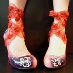 PilaMita Design Kadın Ayakkabı Butterfly Pembe