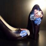 PilaMita Design Kadın Ayakkabı Rose Stain Siyah