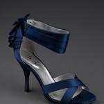 lacivert abiye ayakkabı