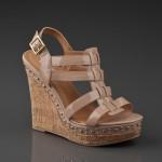 steve madden ten rengi sandalet ayakkabı