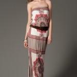 trendyol krem pudra elbiseler