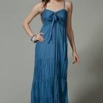 trendyol maksi uzun elbiseler