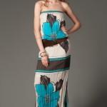 trendyol turkuaz rengi elbiseler
