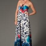 trendyol yazlık uzun elbiseler