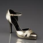 valentino gold dore rengi ayakkabı