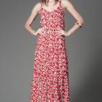 Gvardani & Madonna elbise modelleri uzun