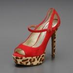 jessica simpson kırmızı leopar ayakkabı modelleri