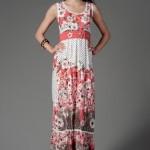 nar çiçeği rengi elbiseler