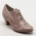 shalin az topuklu vizon rengi ayakkabı