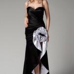 siyah beyaz trendyol gece kıyafetleri