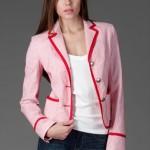 trendyol ng style kırmızı beyaz ceket