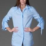 trendyol ng style mavi ekose bonbix tunikler