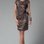 trendyol niff puantiyeli elbise