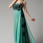 trendyol su yeşili gece kıyafetleri
