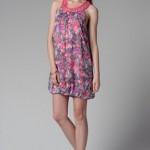 trendyol yuvarlak yaka yazlık elbiseler
