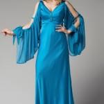 turkuaz trendyol gece kıyafetleri