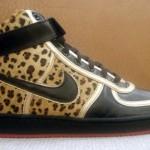 leopar desenli spor ayakkabı