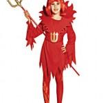 parti dünyası Şeytan Kız Kostümü