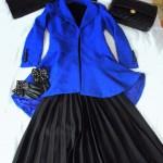 saks mavisi ceket nasıl giyilir kombine edilir