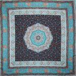 osmanlı motifli çinili eşarplar