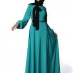 turkuaz elbise 2013
