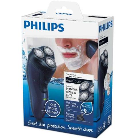 Spot Philips Aquatouch AT620/14 Islak-Kuru Tıraş Makinesi Harika Bir Ürün