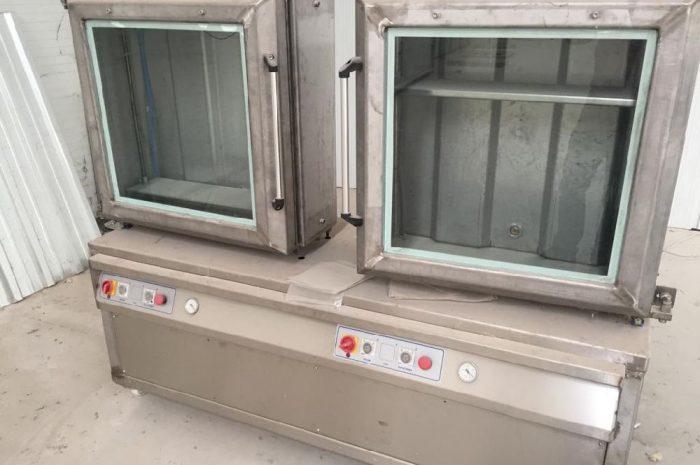 Vakumlu gıda paketleme makinesi çift gözlü çift pompalı