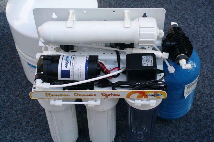 temiz durumda satılık 10 litre su arıtma cihazı