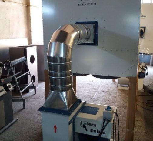 Toz Emici Makine 7500 Metre Küp alanı çeker
